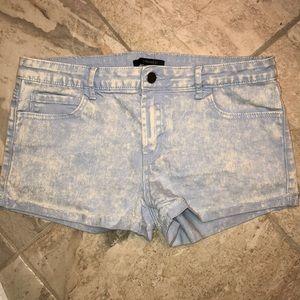 Forever 21 Faded Denim Shorts